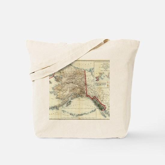 Funny Alaska Tote Bag
