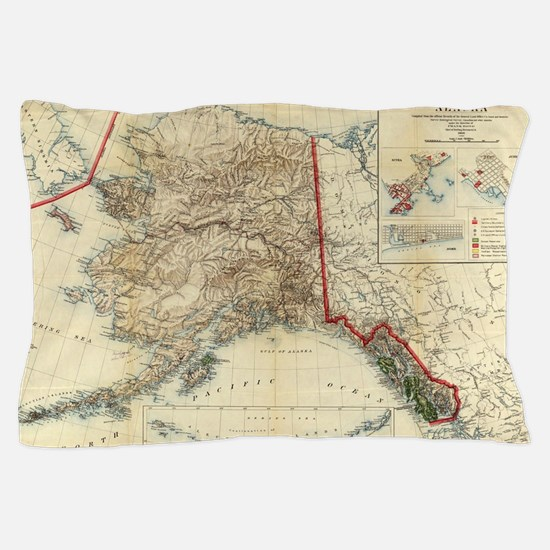 Unique Alaska Pillow Case