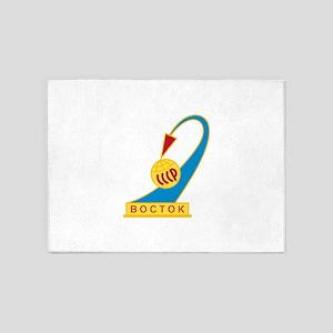 Vostok 1 Logo 5'x7'Area Rug