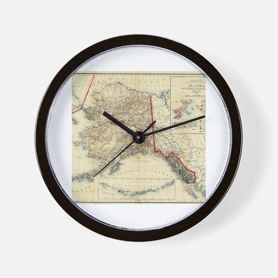 Unique Alaska Wall Clock