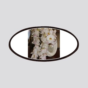 Hawaiian lei white Patch