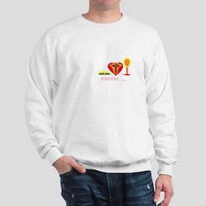 Bible/Heart/Cross/Candle/Sweatshirt