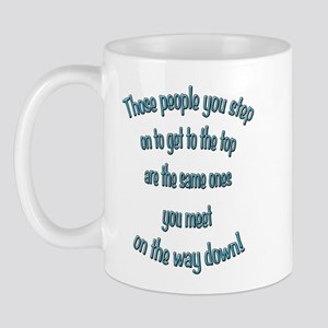 Getting to the Top Mug