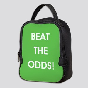 BEAT THE ODDS! Neoprene Lunch Bag