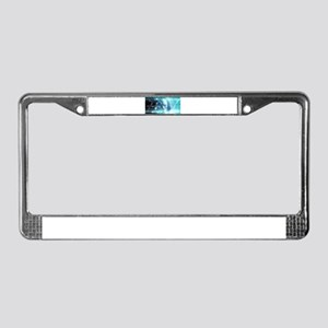 Science Education License Plate Frame