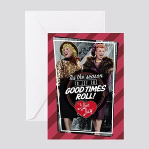 I Love Lucy Good Times Greeting Card