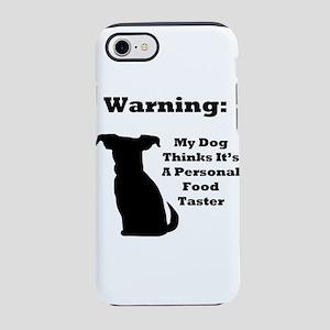 Warning Dog iPhone 8/7 Tough Case