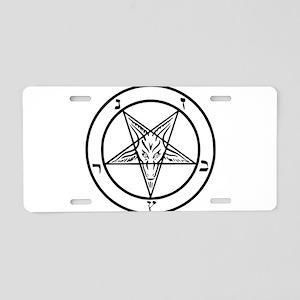 Baphomet - Satan Aluminum License Plate