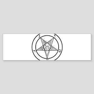 Baphomet - Satan Bumper Sticker