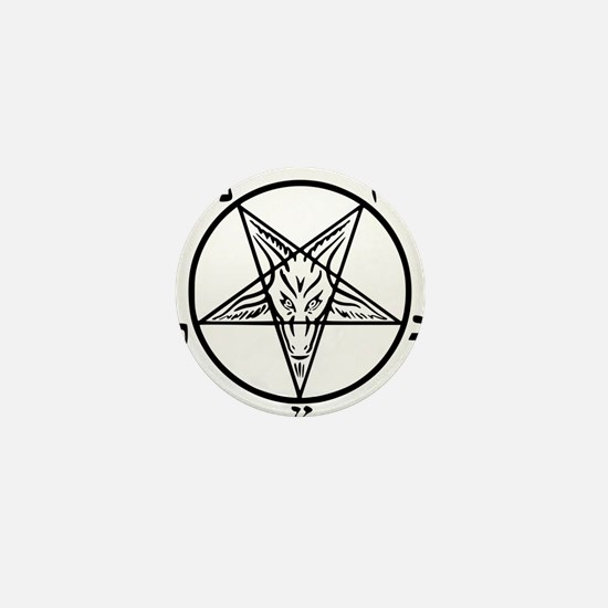 Baphomet - Satan Mini Button