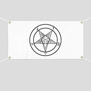 Baphomet - Satan Banner