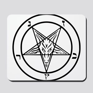 Baphomet - Satan Mousepad