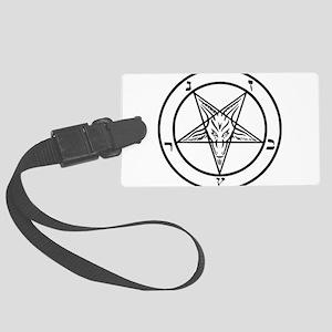Baphomet - Satan Large Luggage Tag