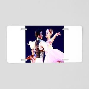 Ballet Romance Aluminum License Plate