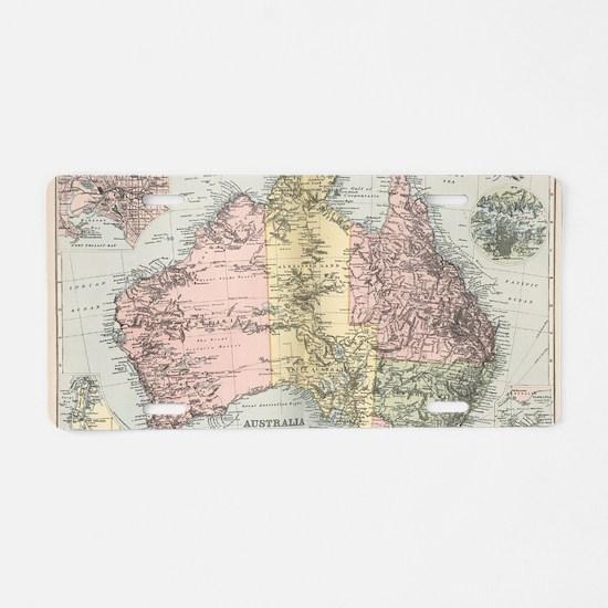 Cute Australia Aluminum License Plate