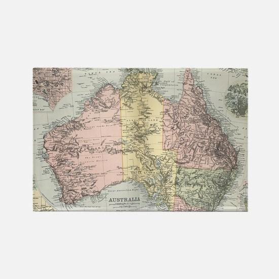 Unique Australian Rectangle Magnet