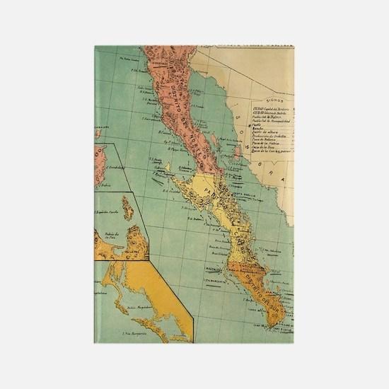 Cute Baja california Rectangle Magnet