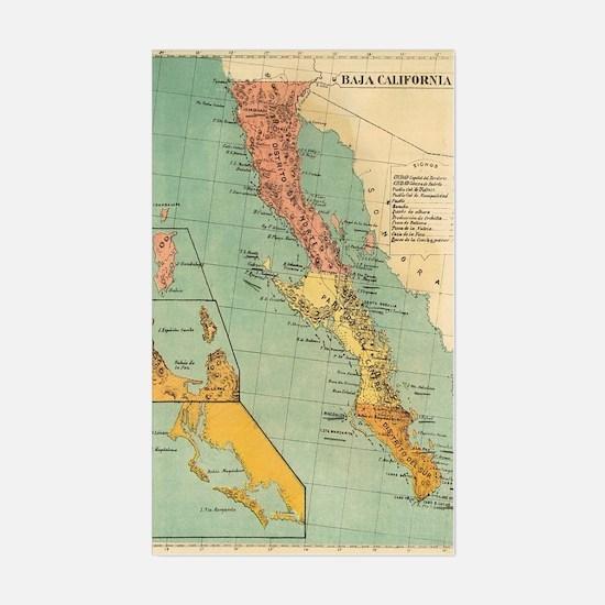 Cute California state Sticker (Rectangle)