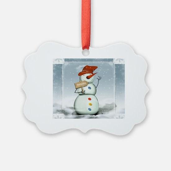 Cute Blizzard Ornament