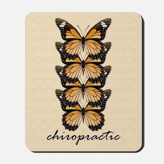 Chiro Butterflies Mousepad