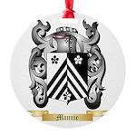 Mannie Round Ornament