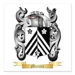 Mannie Square Car Magnet 3