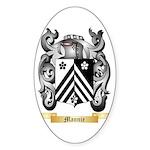 Mannie Sticker (Oval)
