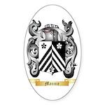 Mannie Sticker (Oval 10 pk)