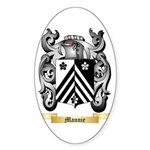 Mannie Sticker (Oval 50 pk)