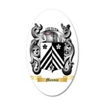 Mannie 20x12 Oval Wall Decal