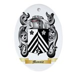 Mannie Oval Ornament