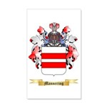 Mannering 35x21 Wall Decal