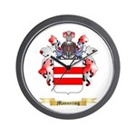 Mannering Wall Clock
