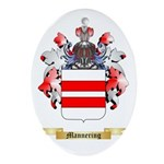 Mannering Oval Ornament