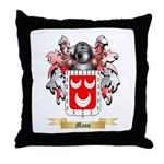 Mann Throw Pillow