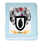 Manly baby blanket