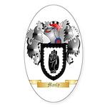 Manly Sticker (Oval 50 pk)