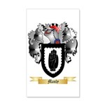 Manly 35x21 Wall Decal