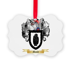 Manly Ornament