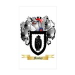 Manley Sticker (Rectangle 50 pk)