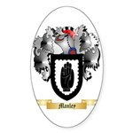 Manley Sticker (Oval 50 pk)