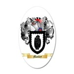 Manley 20x12 Oval Wall Decal
