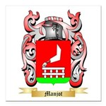 Manjot Square Car Magnet 3