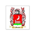 Manjot Square Sticker 3