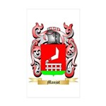 Manjot Sticker (Rectangle 50 pk)