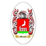 Manjot Sticker (Oval)