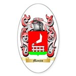 Manjin Sticker (Oval 50 pk)