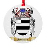 Maniscalco Round Ornament