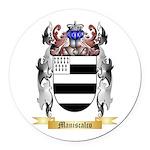Maniscalco Round Car Magnet
