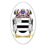 Maniscalchi Sticker (Oval)